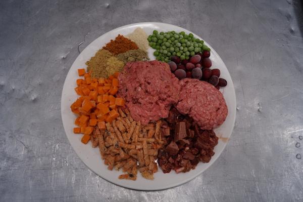 Beef & Salmon Recipe Ingredients