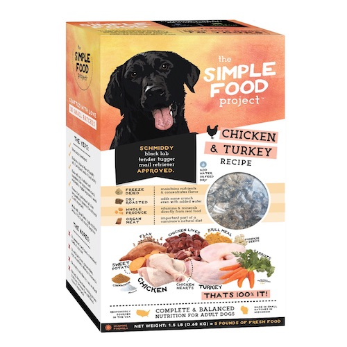 The Simple Food Project Chicken & Turkey Recipe: 1.5 lb box