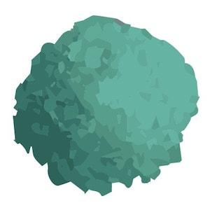 pile of ferrous sulfate